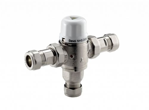 Deva TBV008 15mm Thermostatic Blending Valve High & Low Pressure